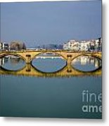 Bridge In Florence Metal Print