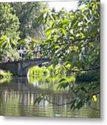 Bridge Near The Charles Metal Print