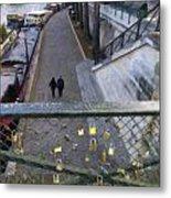 Bridge Of Locks Metal Print