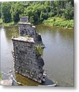 Bridge Of Old Metal Print