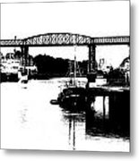 Bridge On The Boyne Metal Print