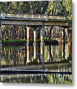 Bridge Over Ovens River 2 Metal Print