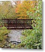 Bridge Over River Metal Print