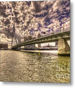 Bridge Over Rotterdam  Metal Print