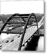 Bridge With A View Metal Print