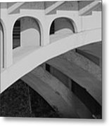 Bridged Trifecta Metal Print by Artist Orange