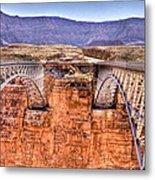 Bridges At Lees Ferry Metal Print