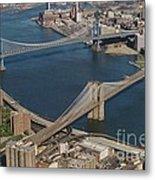 Bridges Of New York City Metal Print