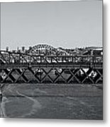 Bridges Of Newcastle On Tyne Metal Print