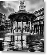 Bridgeton Cross Bandstand Glasgow Metal Print by John Farnan