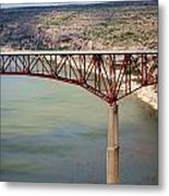 Bridging The Canyon Metal Print
