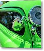 Bright Green Metal Print