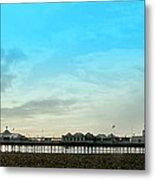 Brighton Pier Panorama Metal Print