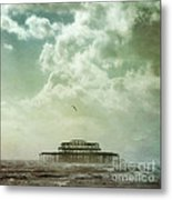 Brighton Seascape Metal Print by Paul Grand