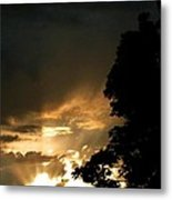 Brilliant Rays Metal Print