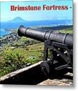 Brimstone Fortress Poster Metal Print