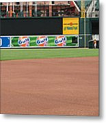 Bringing Out The Batting Cage Metal Print
