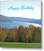 Bristol Harbor Birthday  Metal Print