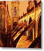 British Christian Cathedral  Metal Print