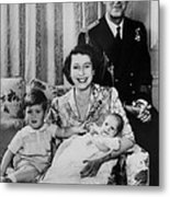 British Royal Family. From Left Future Metal Print