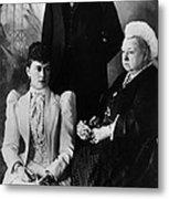 British Royal Family. Mary, Duchess Metal Print