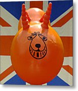 British Space Hopper Metal Print
