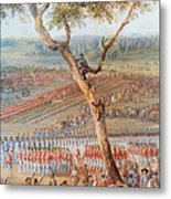 British Troops Surrender At Yorktown Metal Print