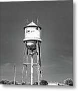 Broad Ave Watertower Memphis Metal Print