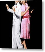 Broadway Melody Of 1940, From Left Fred Metal Print by Everett