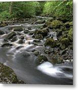 Broadwood Falls Hdr Metal Print