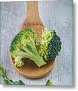 Broccoli Metal Print by Sabino Parente