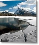 Broken Ice Metal Print