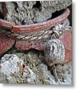 Broken Pottery Metal Print