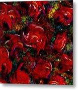 Broken Roses Metal Print