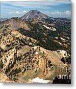 Brokeoff Mountain Scenery Metal Print