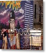Bronx Graffiti. Headache - 1 Metal Print