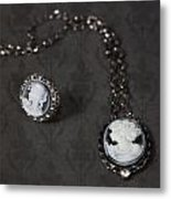 Brooch And Necklace Metal Print by Joana Kruse