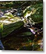 Brook Fall 32 Metal Print