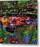 Brook Texture 34 Metal Print