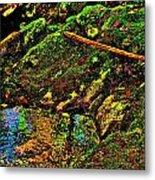 Brook Texture 49 Metal Print