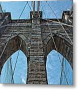 Brooklyn Bridge Metal Print