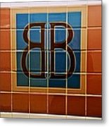 Brooklyn Bridge Station Metal Print
