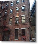 Brooklyn New York - 126 Front Street. Metal Print