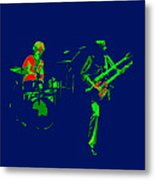 Bruford And Rutherford Blue 2 Metal Print