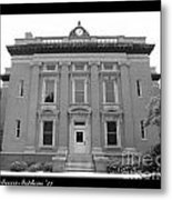 Brunswick Historical Court House Metal Print