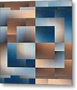 Brushed 11 Metal Print by Tim Allen
