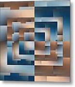 Brushed 12 Metal Print by Tim Allen
