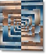 Brushed 13 Metal Print by Tim Allen