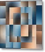 Brushed 14 Metal Print by Tim Allen