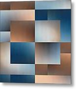 Brushed 9 Metal Print by Tim Allen